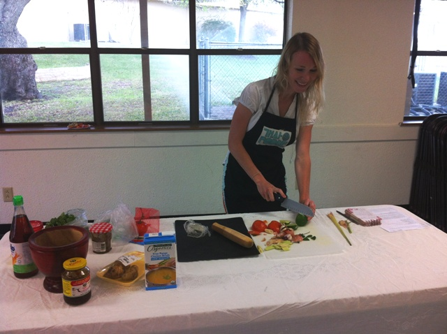 crashing into my first thai cooking class