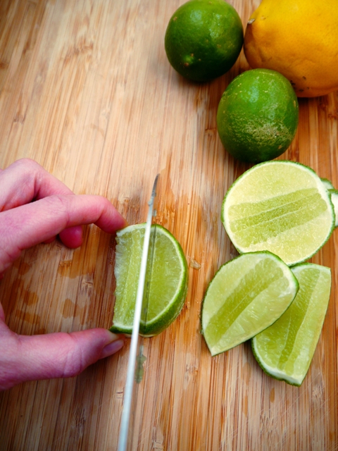 The Secret to How to Cut a Lime or Lemon