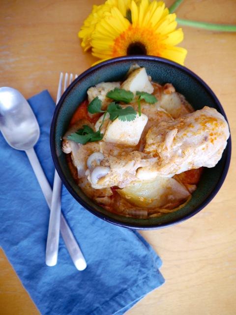 Thai Massaman Curry Recipe-แกงมัสมั่น