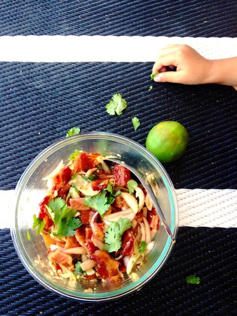 Yum Bacon | Spicy Thai Bacon Salad