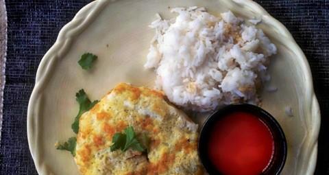Thai Stuffed Egg Crepes Recipe-Kai Yat Sai-ไข่ยัดไส้